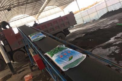 肥料发货装车